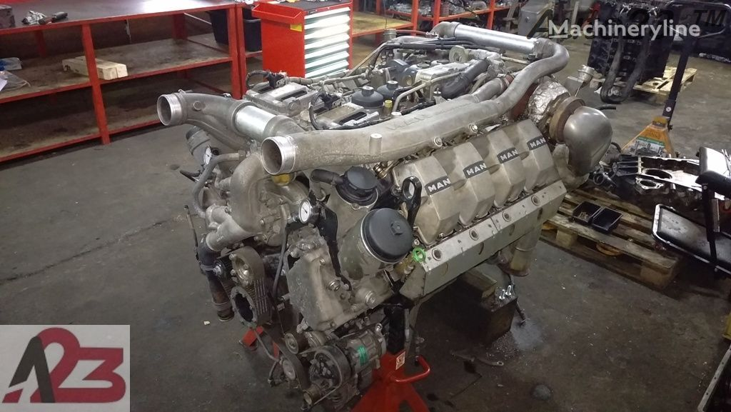silnik LIEBHERR V8 D2868LF Euro5 680km MAN D2868LF V8 Naprawa a do koparki
