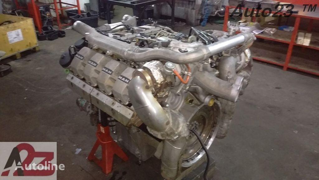 silnik LIEBHERR V8 Euro5 680km MAN V8 do dźwigu samojezdnego