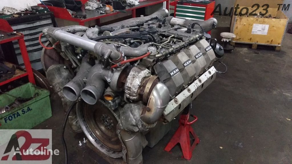 silnik MAN TGX V8 680km Euro5 D28 E5 Liebherr V8 do ciężarówki