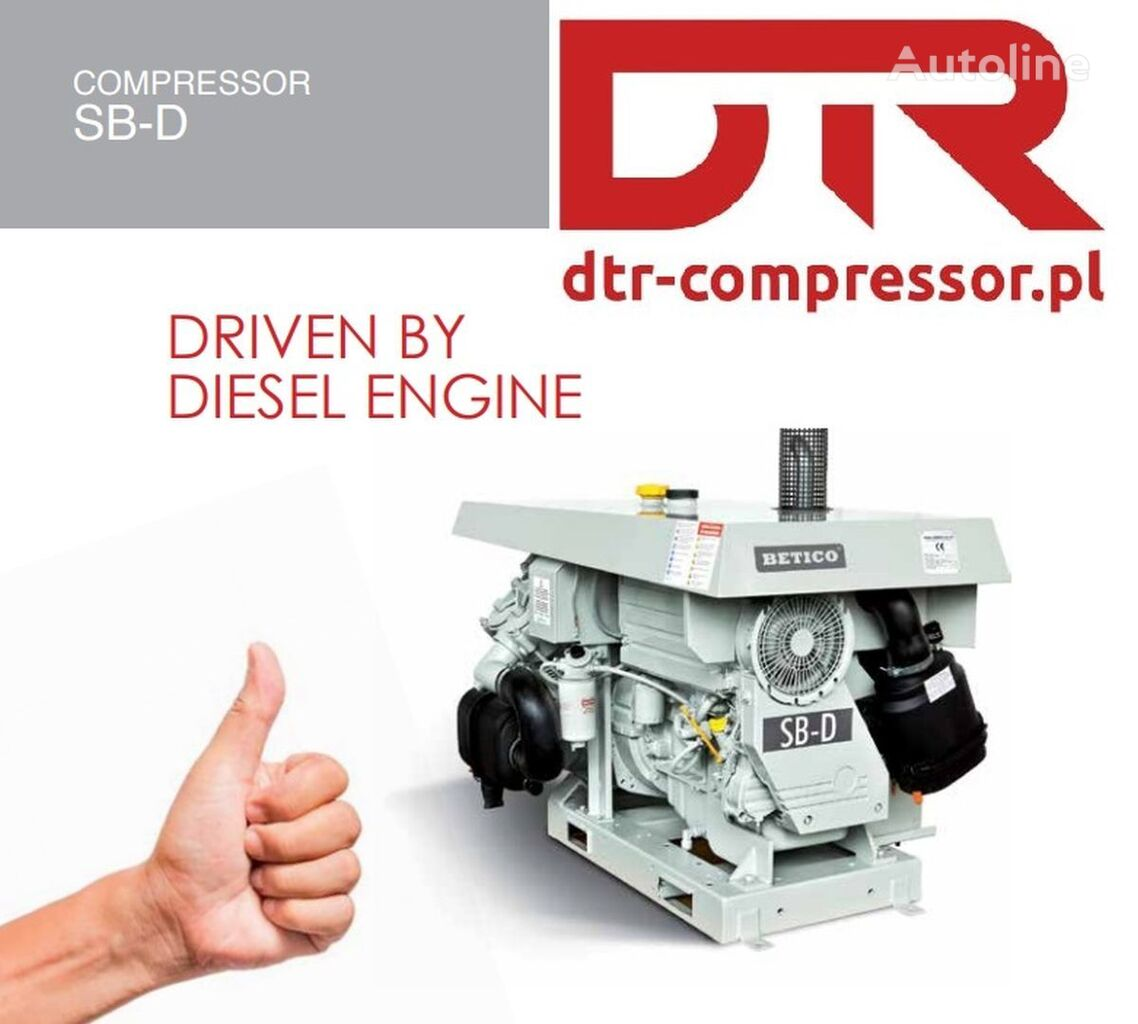 kompresor pneumatyczny AGREGAT SPALINOWY BETICO SB-D NOWY WYDMUCHU DEUTZ do cysterny naczepy Betico kompressor