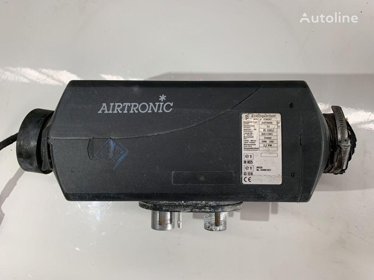 ogrzewanie postojowe EBERSPACHER Airtronic do ciągnika siodłowego IVECO STRALIS
