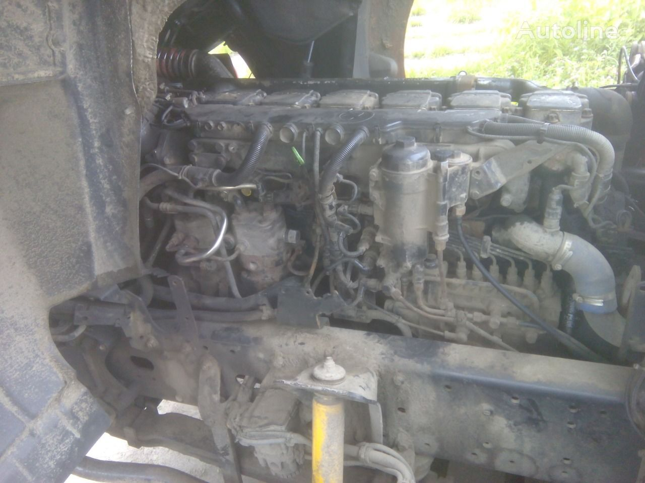 silnik MAN D2876LF04 460 E3 do ciężarówki MAN