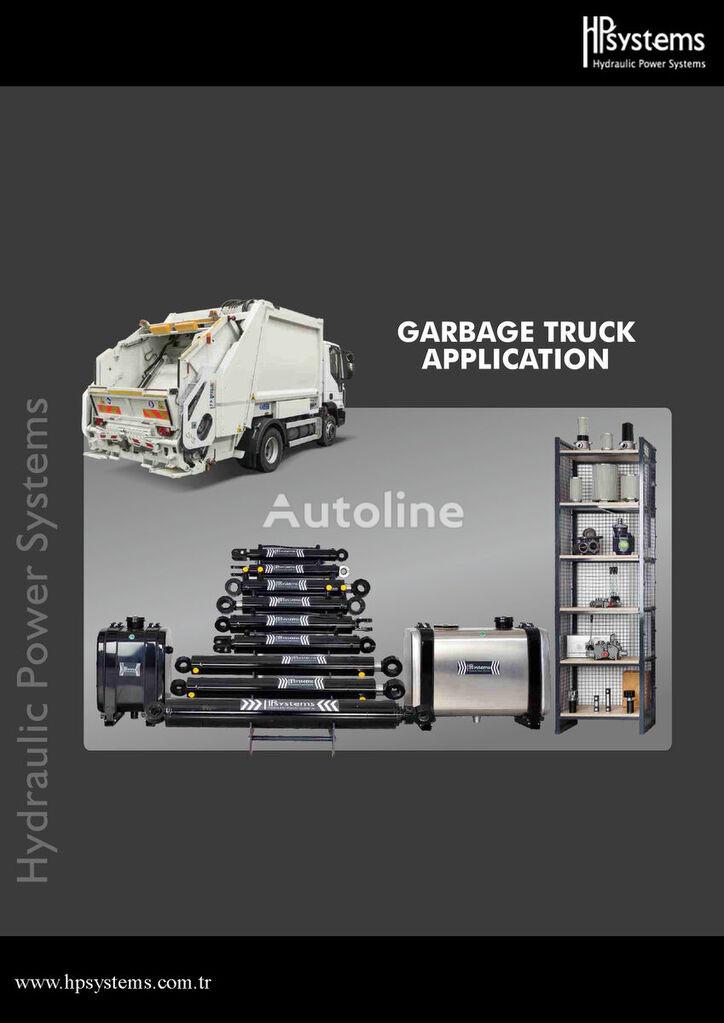 nowy siłownik hydrauliczny HPSYSTEMS HPS-3KD-120X1345X4190 (Garbage trucks) do ciężarówki Garbage