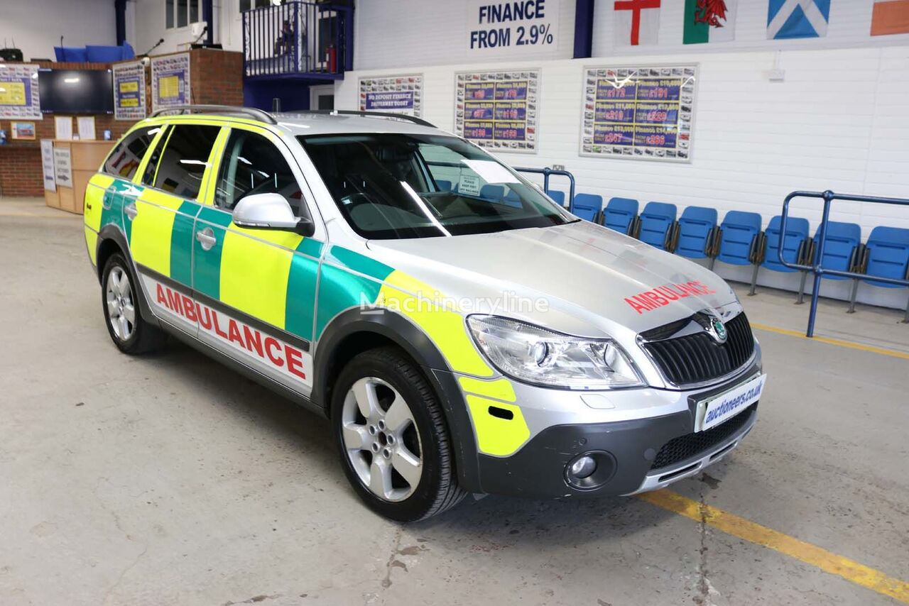 ambulans SKODA OCTAVIA SCOUT 2.0TDI 4X4 RAPID RESPONSE 5 DOOR ESTATE