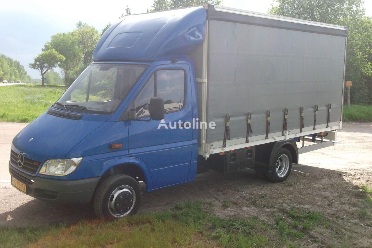 ciężarówka firanka < 3.5t MERCEDES-BENZ 411 CDI Sprinter