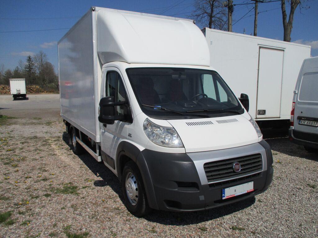 ciężarówka furgon < 3.5t FIAT Ducato 2.3 - 130KM Kontener Winda Dhollandia 750kg