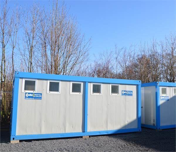 kontener sanitarny ONBEKEND Colle Sanitairunit 6x2,5m