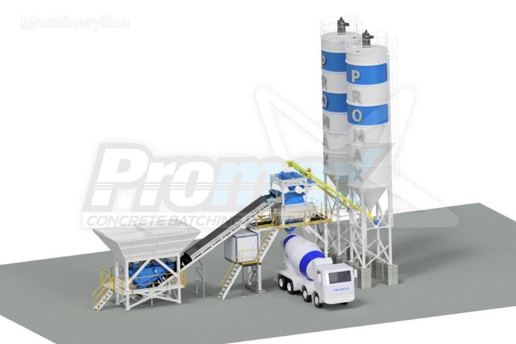 nowa betoniarnia PROMAX Compact Concrete Batching Plant PROMAX C100-TWN-PLUS (100m/h)