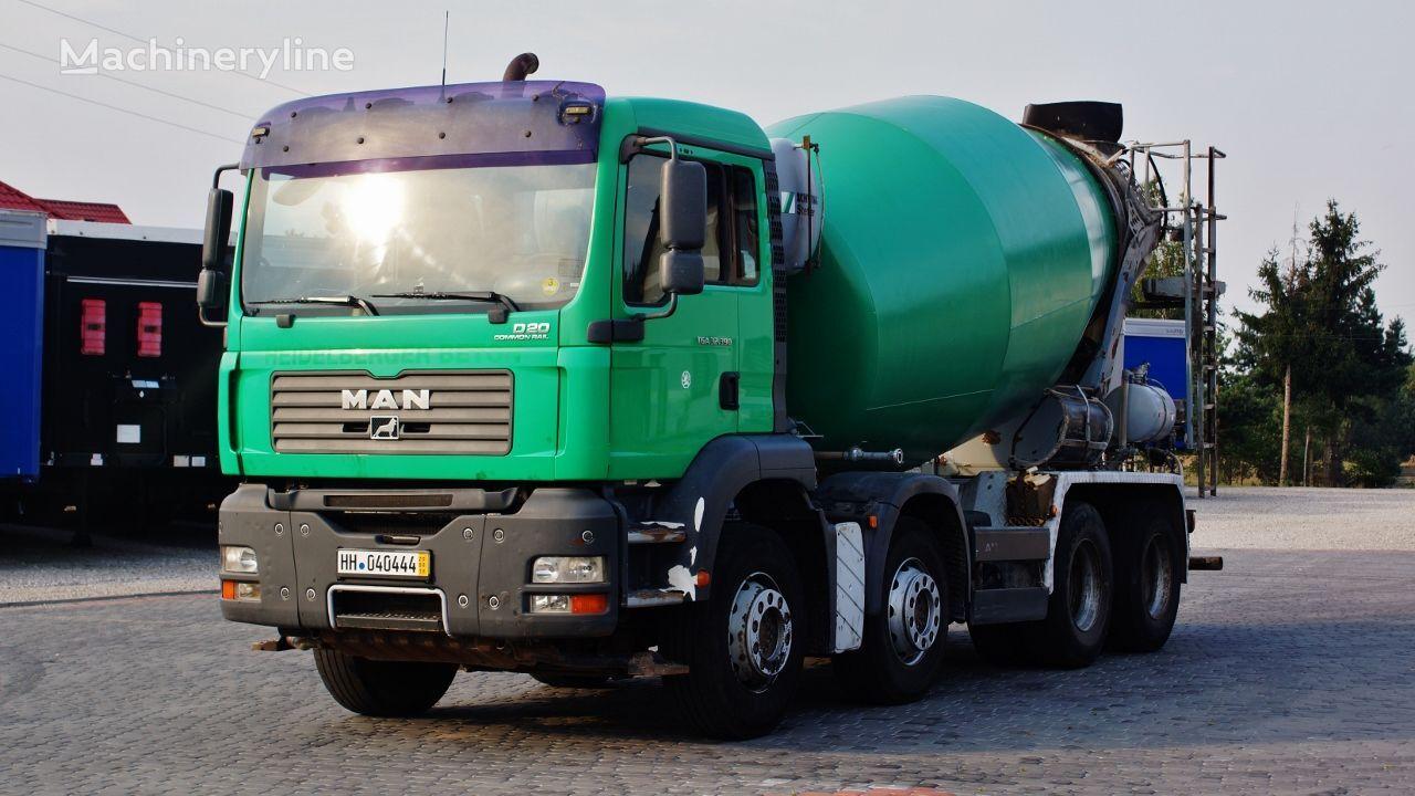 betonomieszarka MAN TGA 32.390 8X4 BETONMIXER STETTER 9m3 MANUAL * 2006/2007 *