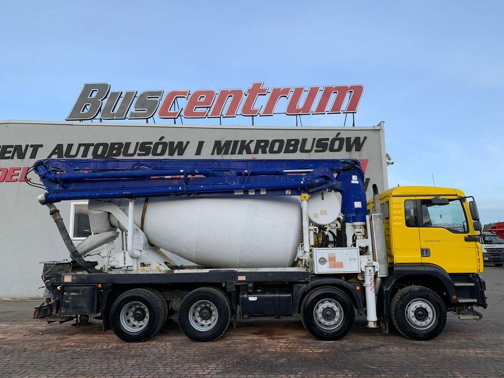 pompa do betonu MAN TGA 37.410 8x4 Schwing 24 m