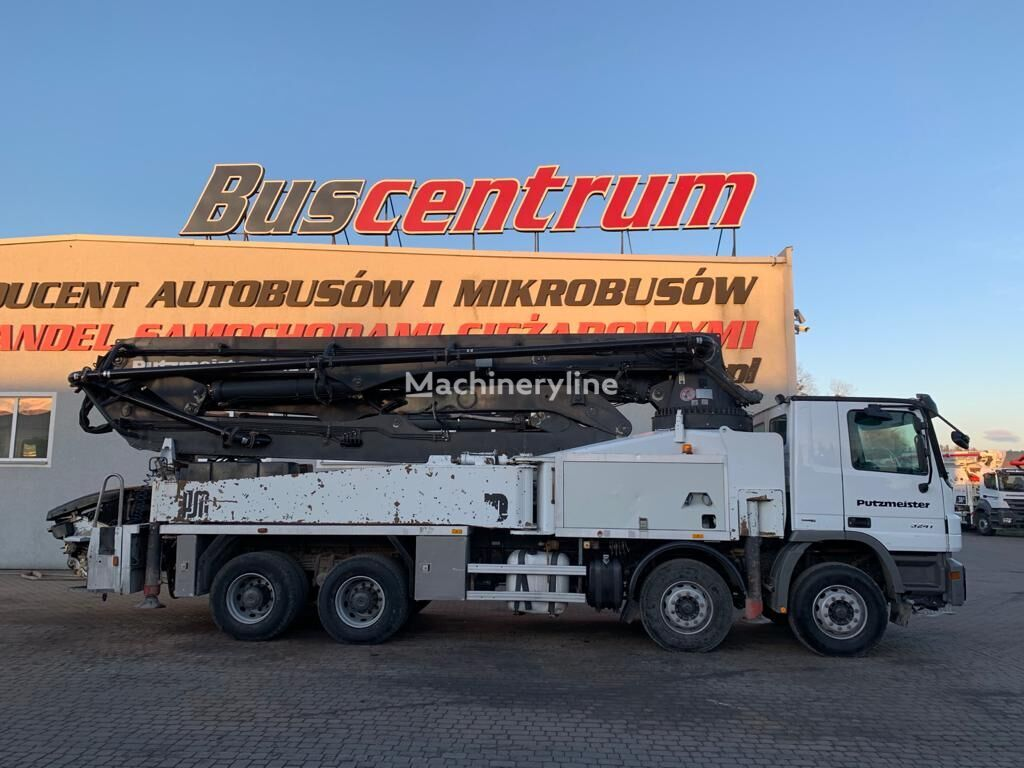 pompa do betonu MERCEDES-BENZ Actros 3241 8x4 Putzmeister 42-5 m