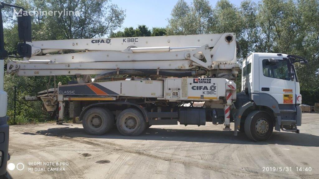 pompa do betonu MERCEDES-BENZ Axor 3340