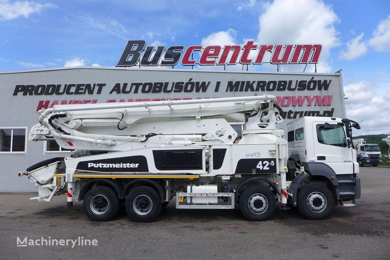 pompa do betonu MERCEDES-BENZ Axor 4140 8x4 Putzmeister 42-5 m
