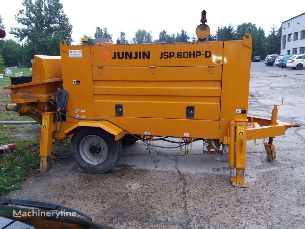 stacjonarna pompa do betonu JUNJIN JSP.60HP-D