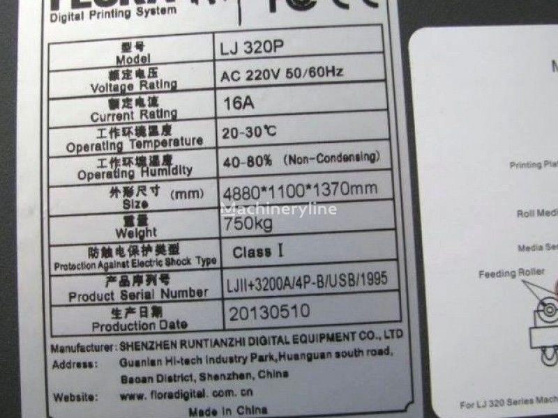 LARGE format printer FLORA LJ320P