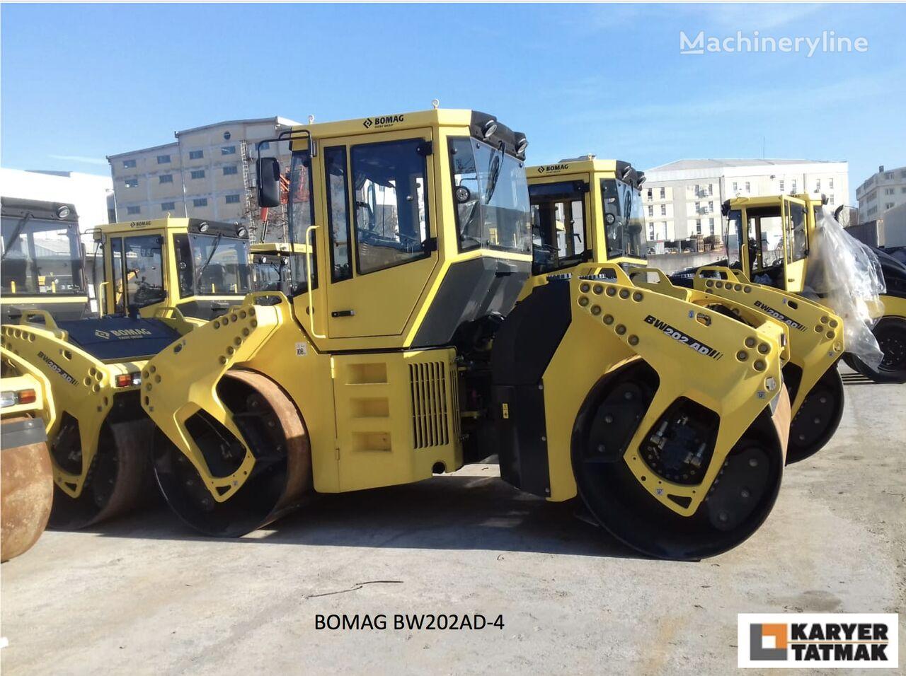 nowy walec drogowy BOMAG BW203AD-4 UNUSED