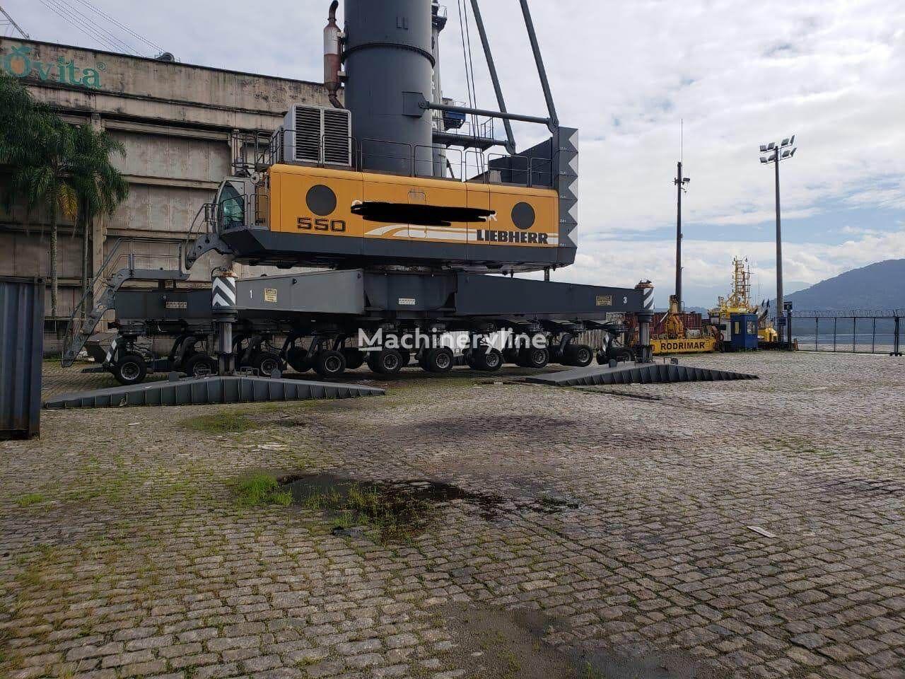 żuraw stoczniowy LIEBHERR LHM550