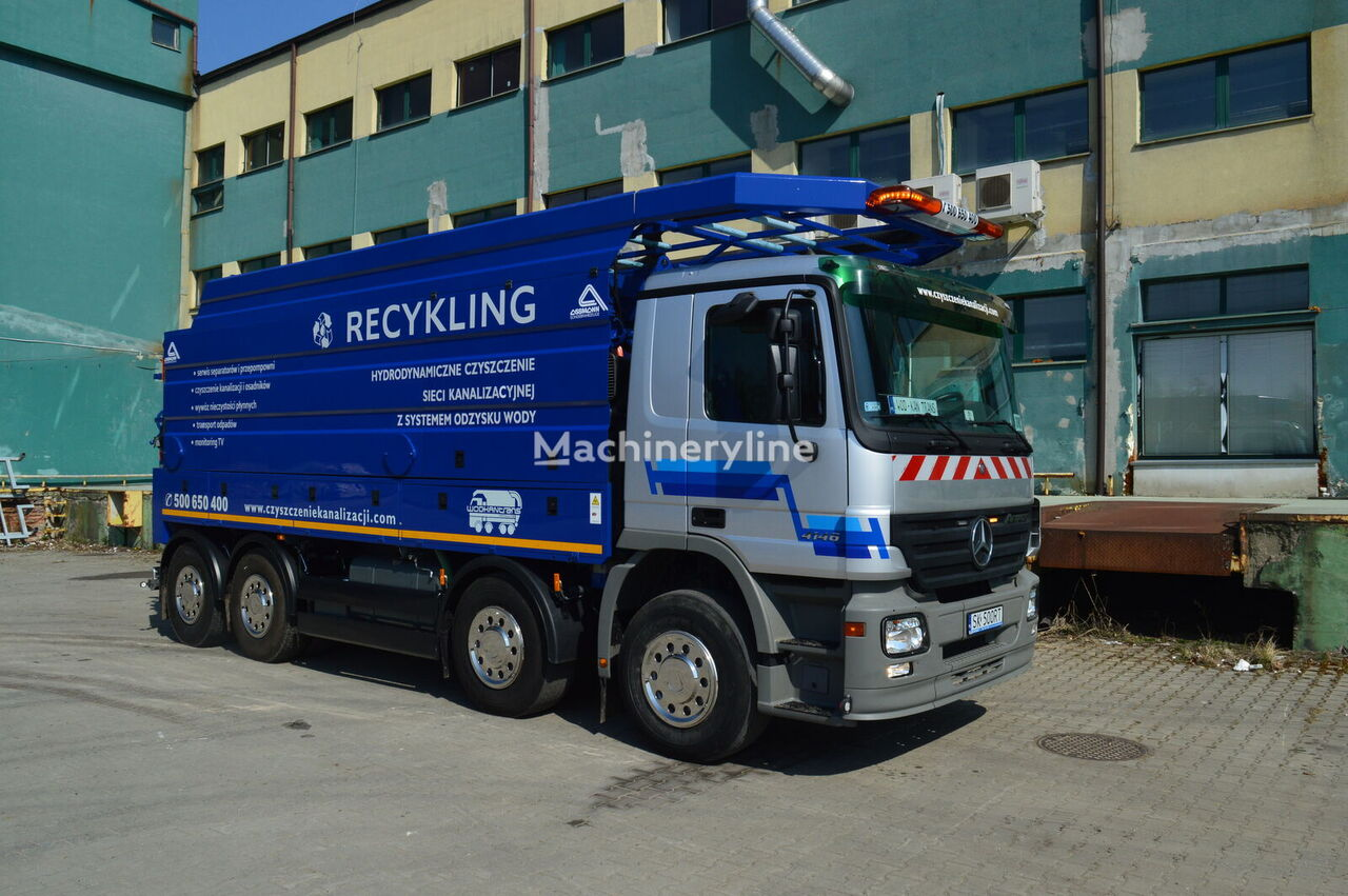 pojazd do czyszczenia kanalizacji MERCEDES-BENZ  ACTROS 4146
