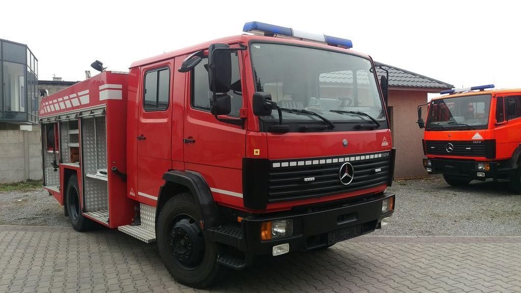 samochod pożarniczy MERCEDES-BENZ 1124F