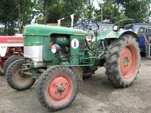 ciągnik kołowy DEUTZ-FAHR D 25 S-N