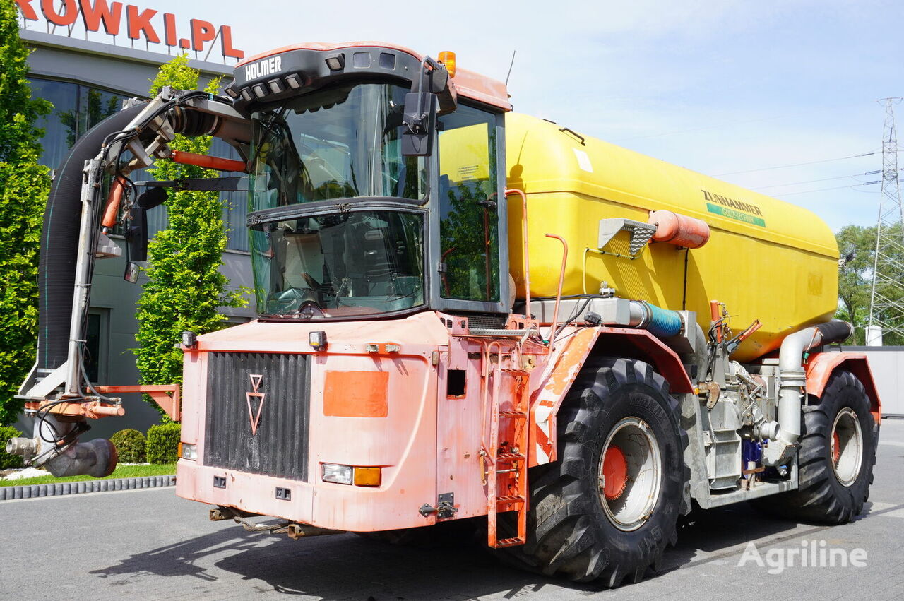 ciągnik kołowy HOLMER Terra Variant 4 , 4x4x4 , 600HP tractor + ZUNHAMMER 21m3