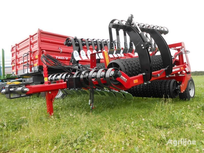 nowy rolnicze walec AGRO-FACTORY II Ackerwalze/ Cornfield/ Wał uprawowy GROM 6,3 M