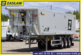naczepa do przewozu zboża ZASŁAW 50 m³ - 6.190 kg LighT tipping semi-trailer 2 x GRAIN HOLE READY