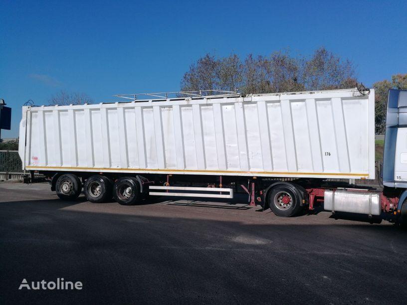 naczepa furgon PIACENZA 13,6 MT COMPATTATORE  RIFIUTI, WASTE COMPACTOR, SPRING SUSP.