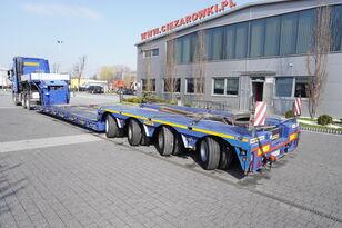 naczepa niskopodwoziowa FAYMONVILLE MEGAMAX , TIEFBETT, PGW 70t , load 48t , 4x steer axle , remote
