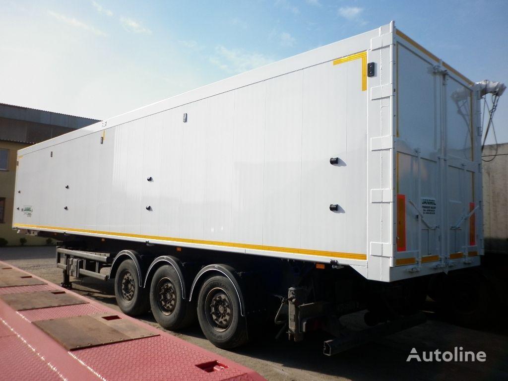 nowa naczepa wywrotka JANMIL 72 m³ aluminium klapo-drzwi SAF