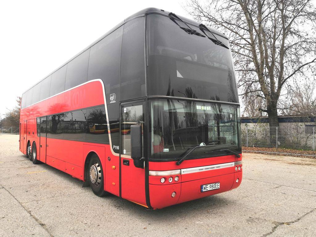 piętrowy autobus VAN HOOL TD 927 Astromega