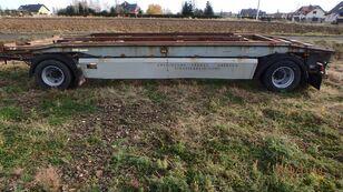 przyczepa do przewozu kontenerów Junge Junge TCA18H für Haken Seil Container Hakowca linowca  Lenhard