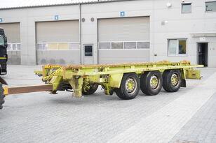 przyczepa do przewozu kontenerów KRONE Truckmate 3 axles , Roll-of tipper , 7m
