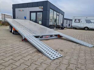 nowa przyczepa do przewozu samochodów LOHR GRAVITY M400 + BL Plattformanhänger mit zGM KIPPBAR