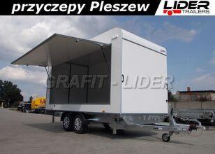 nowa przyczepa furgon LIDER trailers TP-059 przyczepa 420x200x210cm, kontener, furgon izolow