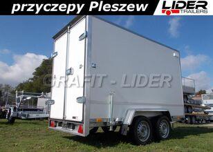 nowa przyczepa furgon TEMARED TM-183 przyczepa 300x150x180cm, Box 3015/2, kontener, fo
