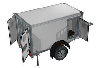 nowa przyczepa furgon ИСТОК 3791M1