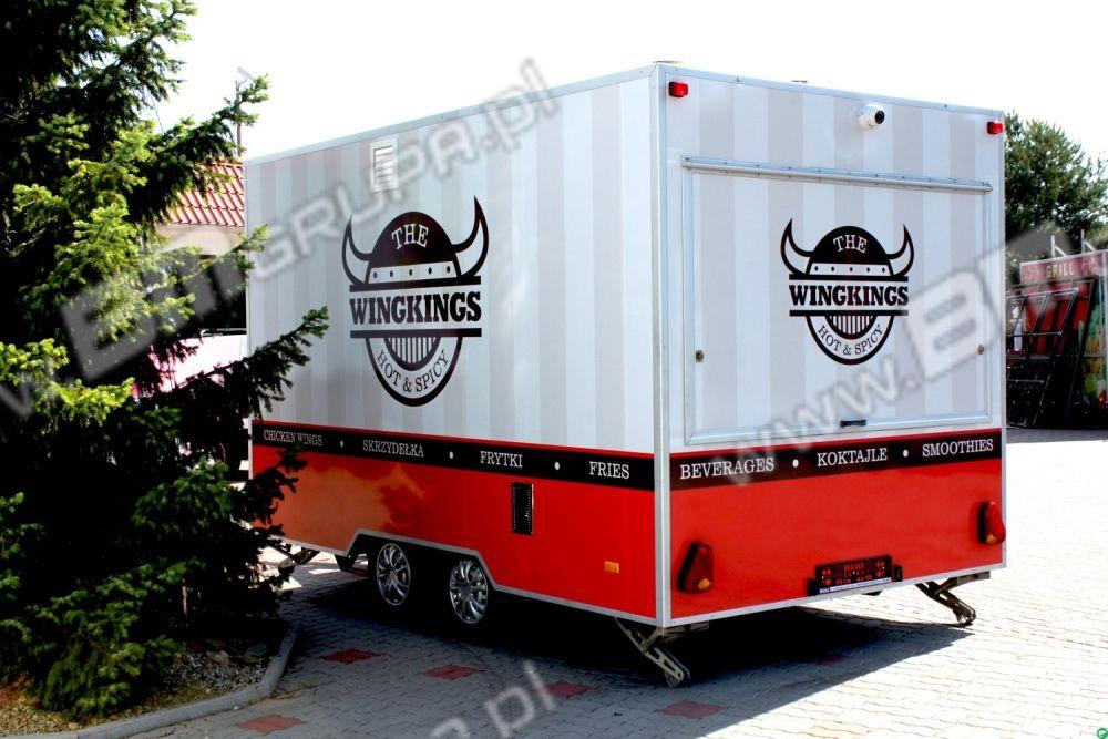 nowa przyczepa handlowa BMgrupa Catering trailers, kurczak z rożna,Verkaufsanhänger