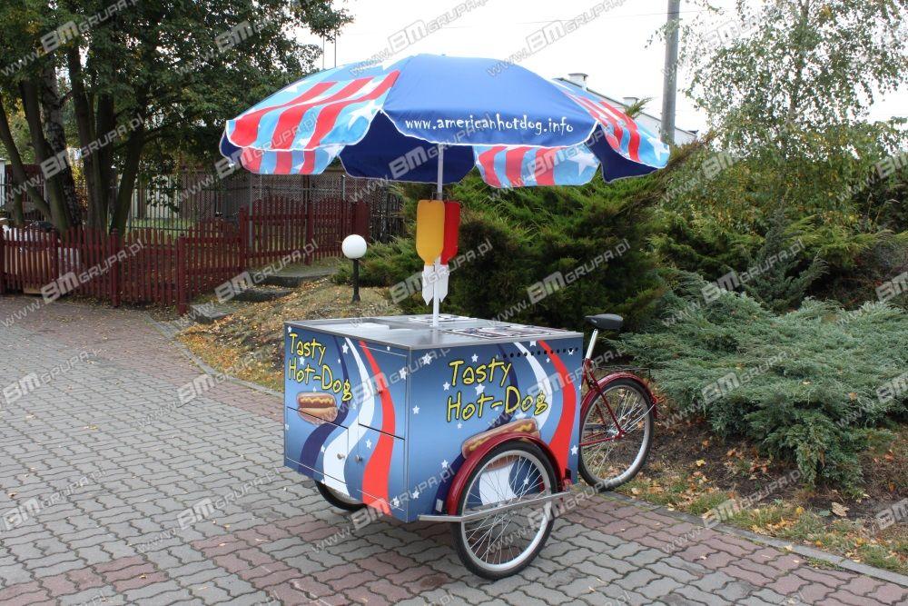 nowa przyczepa handlowa BMgrupa catering bike, do sprzedaży hot-dogów,Verkaufsfahrrad