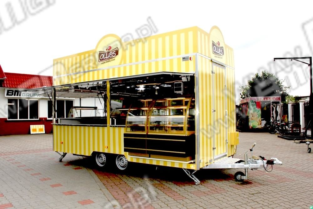 nowa przyczepa handlowa BODEX Verkaufsanhänger, Przyczepa Imbiss, do sprzedaży kawy, lodów,