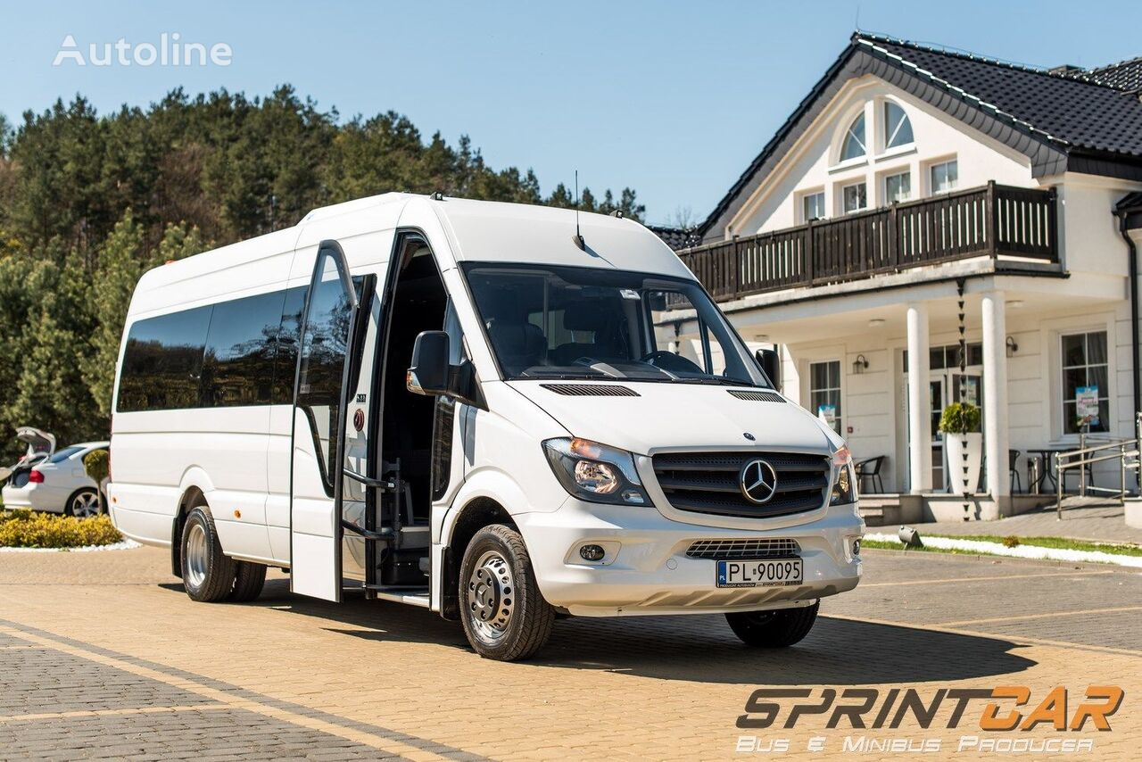 nowy bus pasażerski MERCEDES-BENZ Sprinter 519 22+1 Ready !