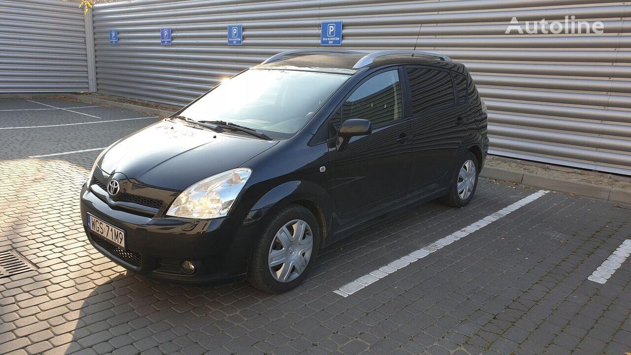 minivan TOYOTA COROLLA  VERSO