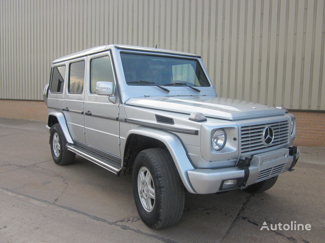 pick-up MERCEDES-BENZ G wagon 500 armoured B6 level