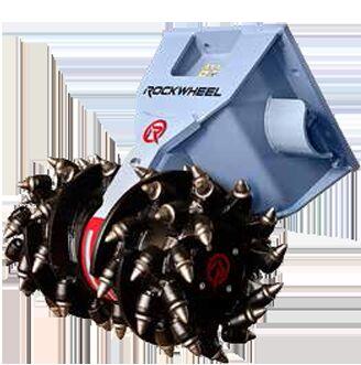 nowy bęben korekcyjny Rockwheel D10 hydraulic milling machine excavator mill