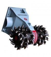 nowy bęben korekcyjny Rockwheel D20 hydraulic milling machine excavator