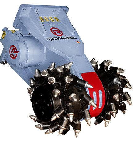 nowy bęben korekcyjny Rockwheel G50 hydraulic milling machine excavator mill