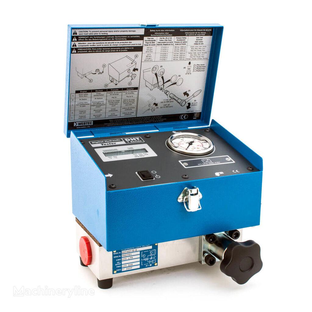 nowy sprzęt diagnostyczny Webtec DHT 401 Flowmeter hydraulic tester