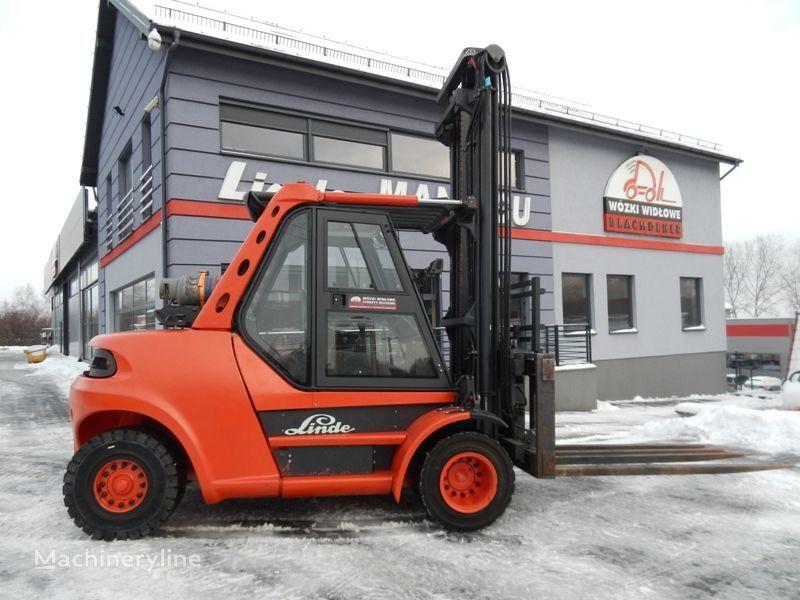 wózek widłowy LINDE H80T/900 Multi-pallet handler 8T 5.2M